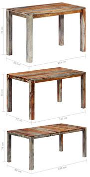 Tavolo in legno di Palissandro