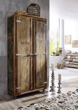 Armadio #38 serie frigo legno riciclato