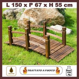 Ponte in legno massiccio