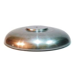 Paralume piatto in ferro