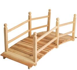 """Ponte """"oasi"""" in legno massello"""