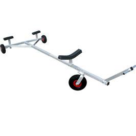 Carrello Alaggio Alluminio 260 -S con ruotino anteriore