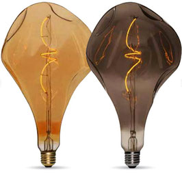 Lampadina Vintage LED A165 Bumped 5W