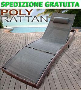 Lettino Prendisole Rattan