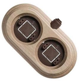 Cornice legno Naturale 2 elementi