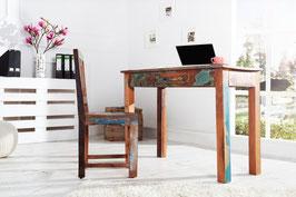 Tavolo lettura + sedia MADRAS H84
