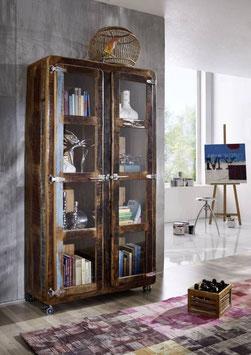 Vetrina #30 - serie frigo legno riciclato