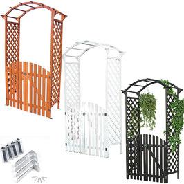 Arco grigliato   con cancello