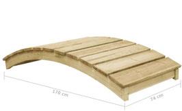 Ponte legno impregnato