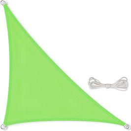 Vela triangolo 90°- 160 g/m² - 3.6x3.6x5,1