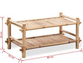 Tavolino basso in Bambù