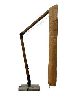 Telo copertura per ombrellone decentrato