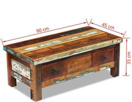 Tavolino caffè recycled
