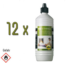 12 x 1 lt. bioetanolo