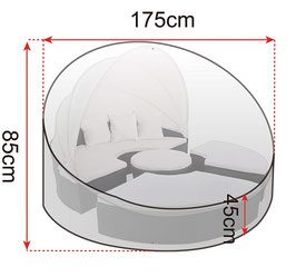 Copertura PE/polietilene 110g/m²
