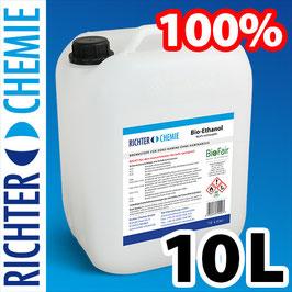 1 tanica da 10 litri di bioetanolo