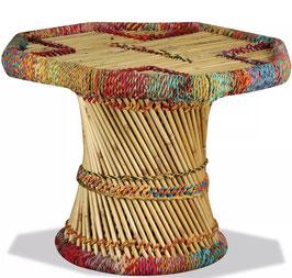 Tavolino Ottagonale Bambù Chindi