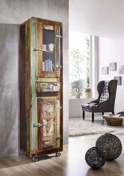 Armadio con vetrina  #11 - legno riciclato