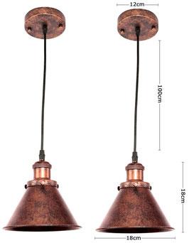 Coppia Lampada Imbuto