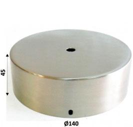 Rosone acciaio opaco