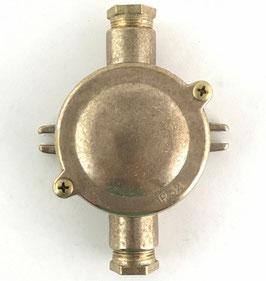 Scatola Derivazione esterni ottonato IP54
