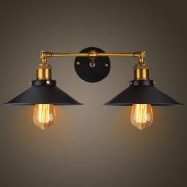 Plafoniera vintage 2 lampade