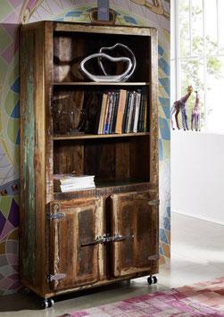 Armadio libreria #33  legno riciclato