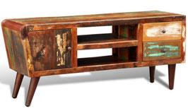 Mobiletto sixties legno riciclato