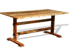 Tavolo legno massiccio riciclato