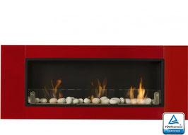 Biocamino 3 Bruciatori XXL Rosso