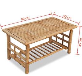 Tavolino caffè in Bambù