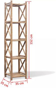 Scaffale in Bambù 152 cm.
