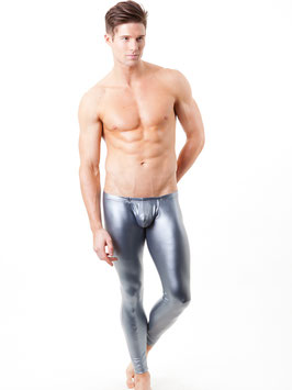 Tights Metallic Silver (S M L)