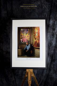 Fotografie, Ernst Fuchs in Villa