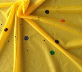 Gelbes Seidentuch 90 x 90 cm