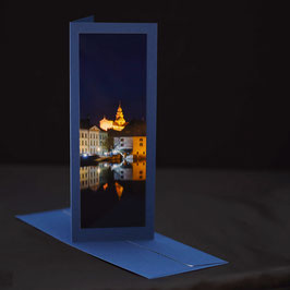 Elegance Kaschmirblau Solothurn an der Aare  Nacht