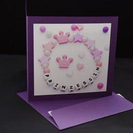 carre 15 Geburt Prinzessin Glimmer purple