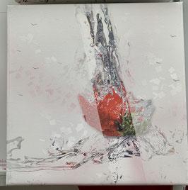 Erdbeere 1/  20cm x 20 cm