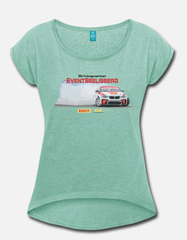 T-Shirt Drift Eventseelisberg BMW HGK F22 Eurofighter 2018 WOMEN 1