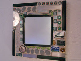 Miroir récup vert