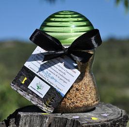 Pot saupoudreur d'amandes à la truffe noire