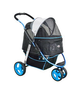 "InnoPet® Hundebuggy ""Urban blue"" - IPS-065/B - blau"