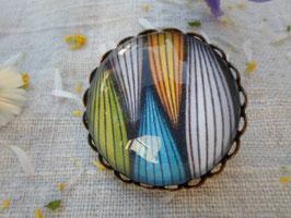 """Broche de 25 mm , """" multicolore"""""""