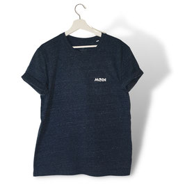 Shirt - Moin Dark Heather Blue