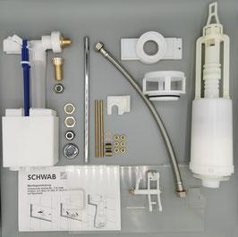 SCHWAB | Umbau Set Renovierung WC Spülkasten Modelle 80.000, 81.000 und 84.100