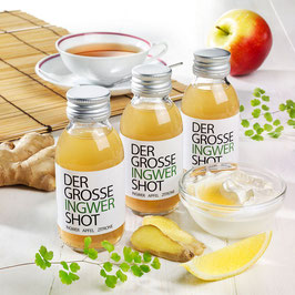 DER GROSSE INGWER SHOT | Bio 3er-Set