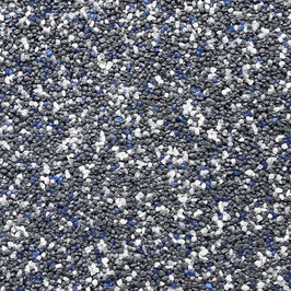 SOP 91 Anthrazit/Blau/Weiß (Naturkorn)