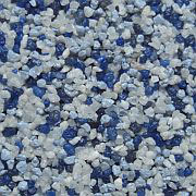 Weiß(Naturkorn)/Hellblau/Blau