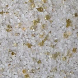 Weiß (Naturkorn) + Glas Vanille