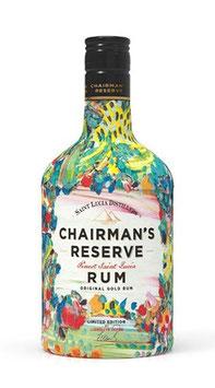 CHAIRMAN'S RESERVE Gold Rum Llewllyn Xavier